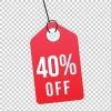 40% Off