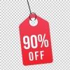 90% Off